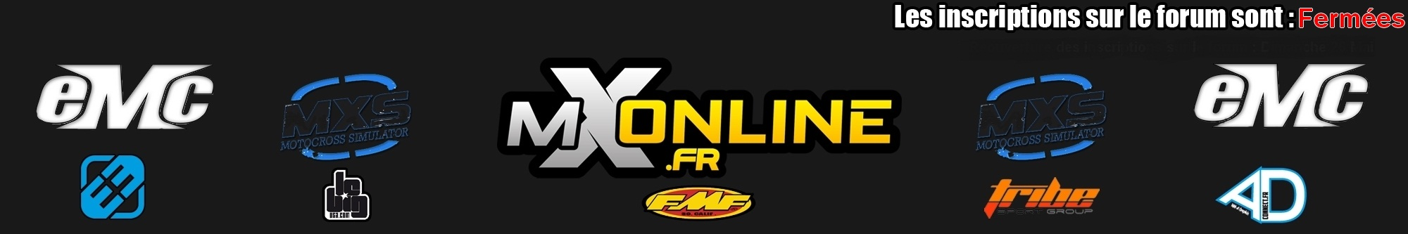 MX SIMULATOR / MX-ONLINE.FR  Forum organisation championnat de France MX SIM Forum Index