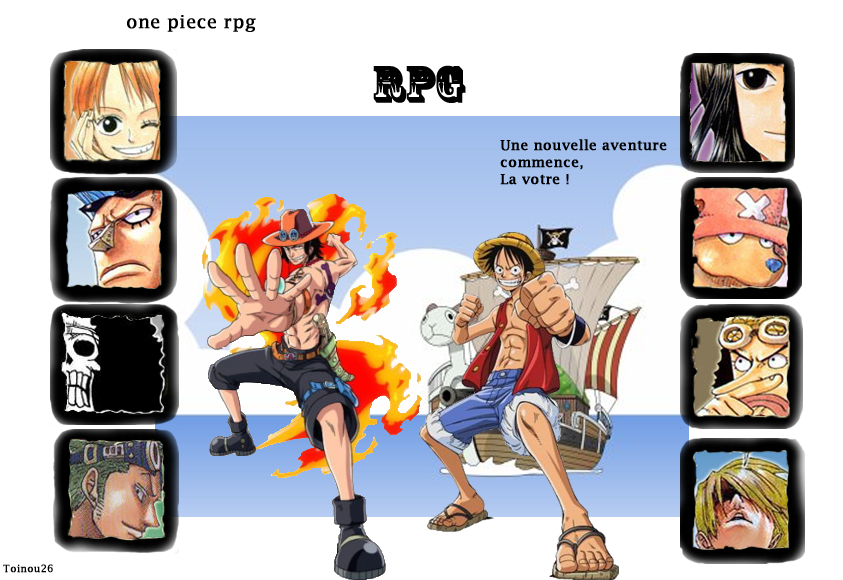 one piece rpg Index du Forum