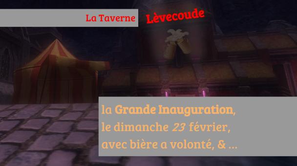 [ANIMATION] Inauguration de la Taverne Lèvecoude Annonce_ino-4403495