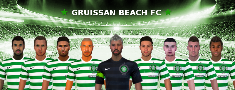 Logo Gruissan Beach Football Club