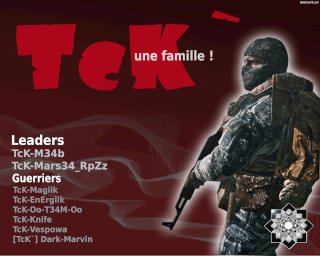 [TcK`] la team ! Index du Forum