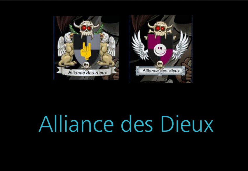 Alliance des Dieux Index du Forum