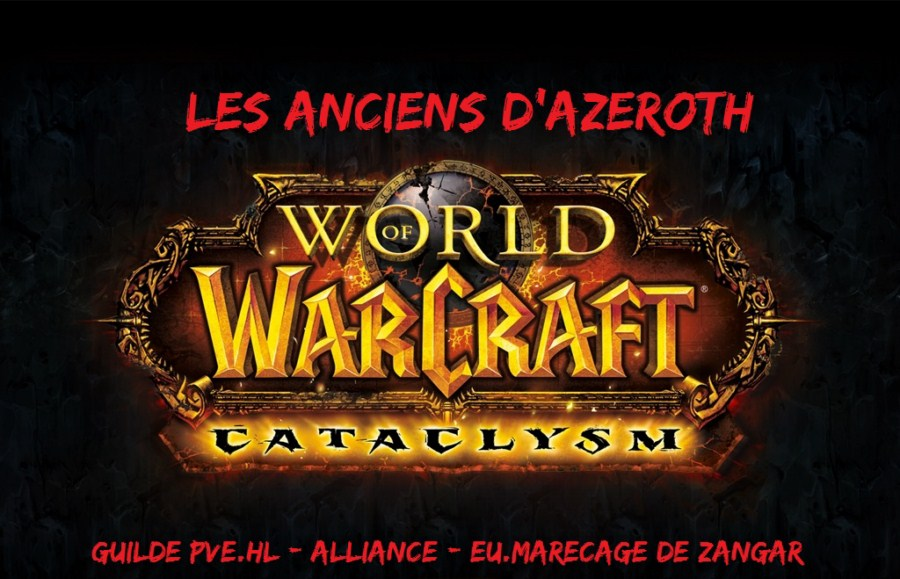 les anciens d'Azeroth Forum Index