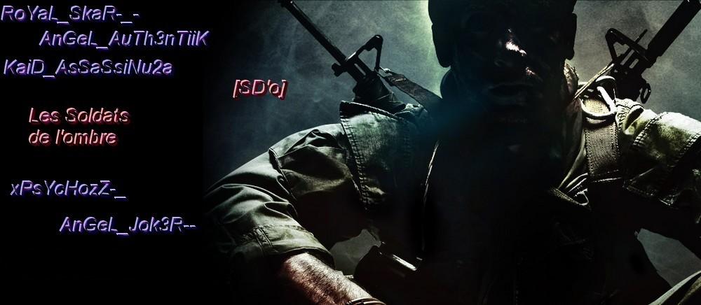 team soldats de l ombre  Index du Forum