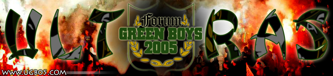 Www.UGB05.Com | Forum officiel des Ultras Green Boys Index du Forum