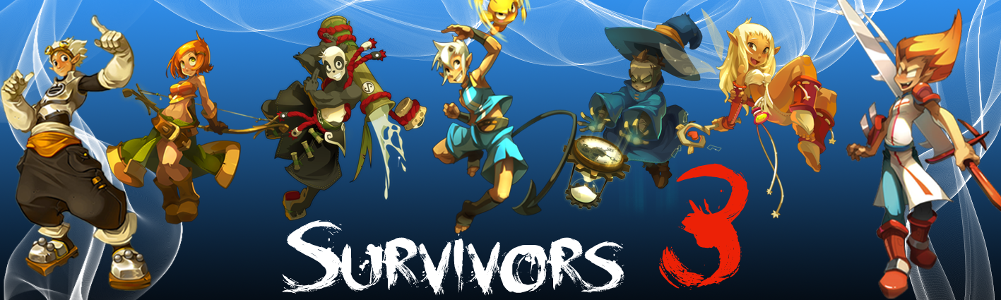 Survivors 3 : Tournoi sur Rykke-Errel Index du Forum