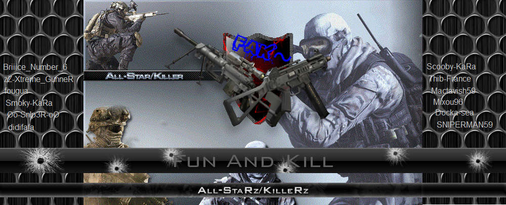 fun and kill Index du Forum