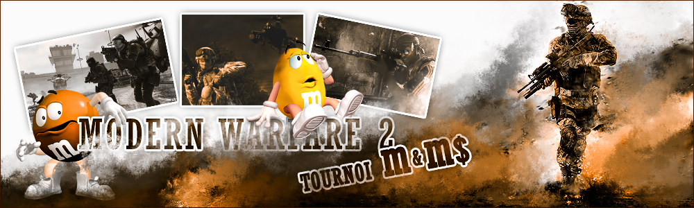 Tournoi M&M$ CoD 6 Index du Forum