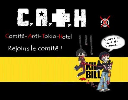 C.A.T.H : Comité-Anti-Tokio-Hotel . Index du Forum