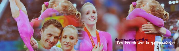 Un forum Sur un sport magnifique plein de grace la gymnastique Index du Forum