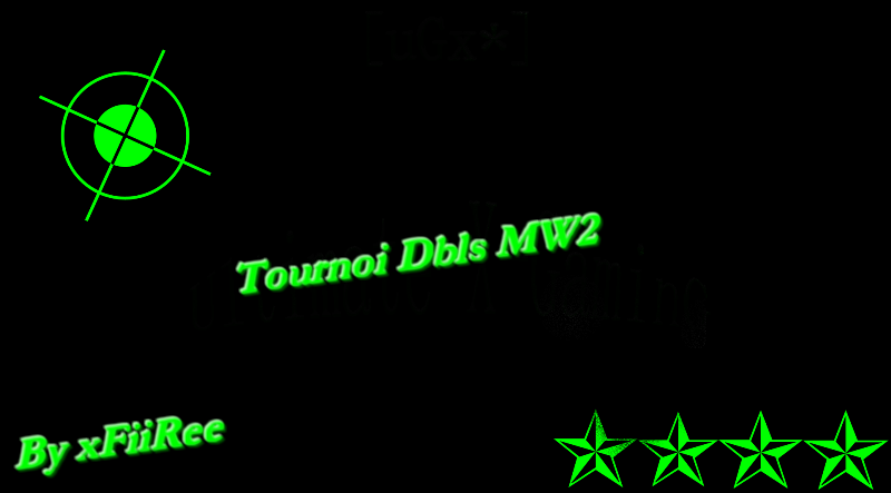tournoi mw2 de 2vs2 Index du Forum