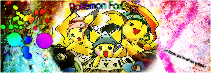 Pokémon ForEver Index du Forum