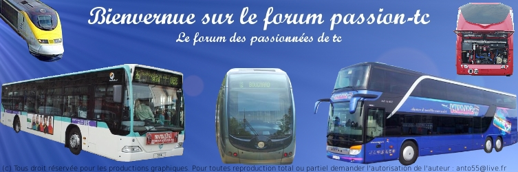 Forum passion-tc Index du Forum