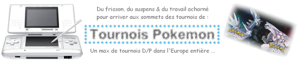 Tournois Pokémon Index du Forum