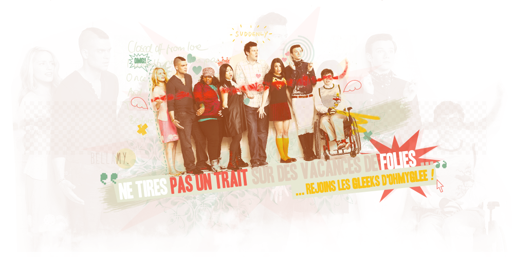 GLEE  Index du Forum
