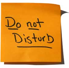 DonotDisTurb Index du Forum