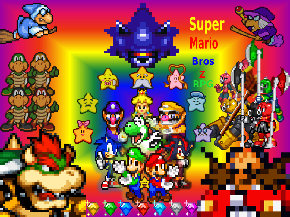 super mario bros z rpg Index du Forum