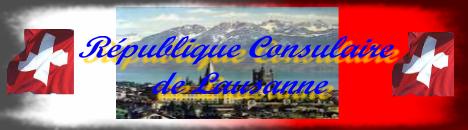 Consulat de la République de Lausanne Index du Forum