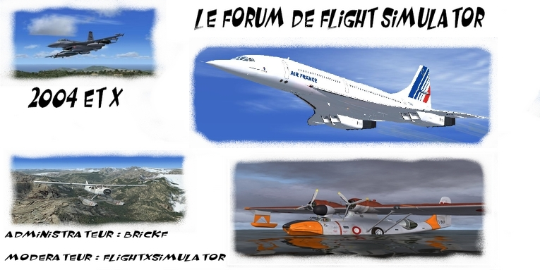 flight simulator 2004 & x Index du Forum