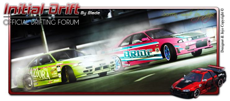 initial drift forum Index du Forum