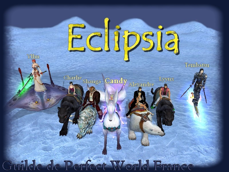 Eclipsia Forum Index