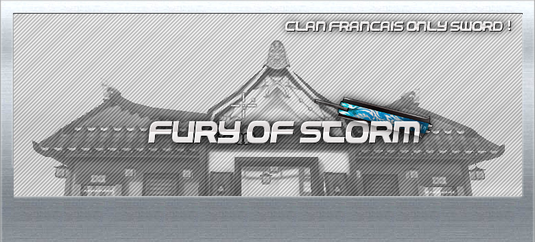 fury of storm Index du Forum