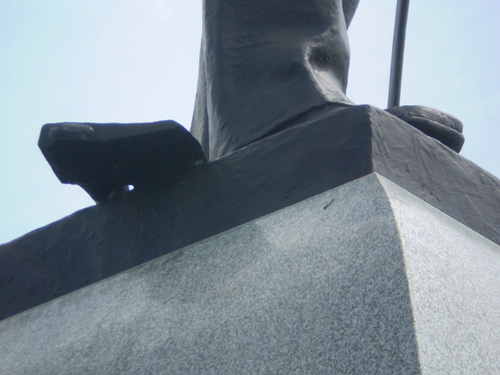 club conf d r et f d ral de france la statue du lt brown gettysburg. Black Bedroom Furniture Sets. Home Design Ideas