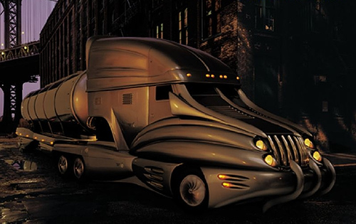 l amerique a sancoins camions du futur. Black Bedroom Furniture Sets. Home Design Ideas