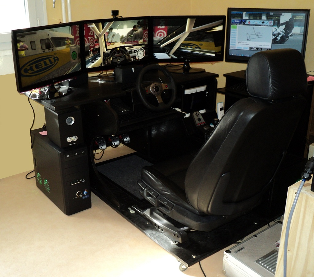 pcshm playseats cockpits et simulateurs home made questions cr ation d 39 un simulateur. Black Bedroom Furniture Sets. Home Design Ideas