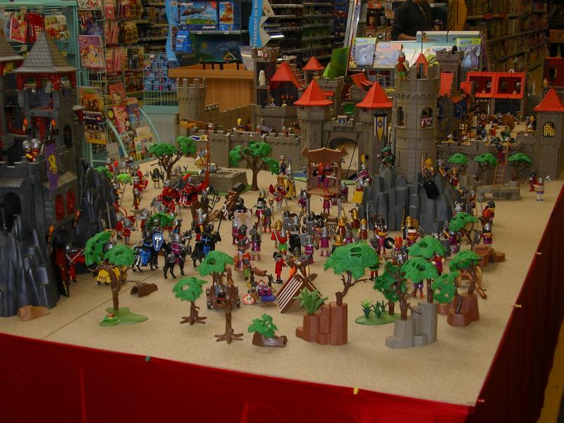 Le forum expo du 16 avril 2011 la grande r cr de trelissac 24 - Toute les maison playmobil ...