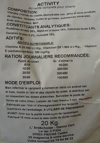 Jagdterrier le forum les croquettes - Croquettes royal canin club cc sac de 20kg ...