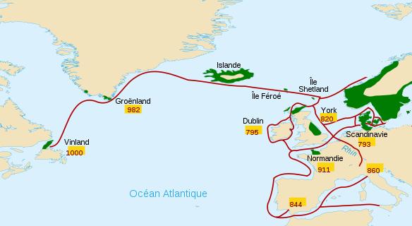 les vikings carte-