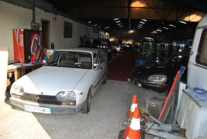 Citro n gsa entreprise donc une 2 places de 1981 for Garage citroen montaigu