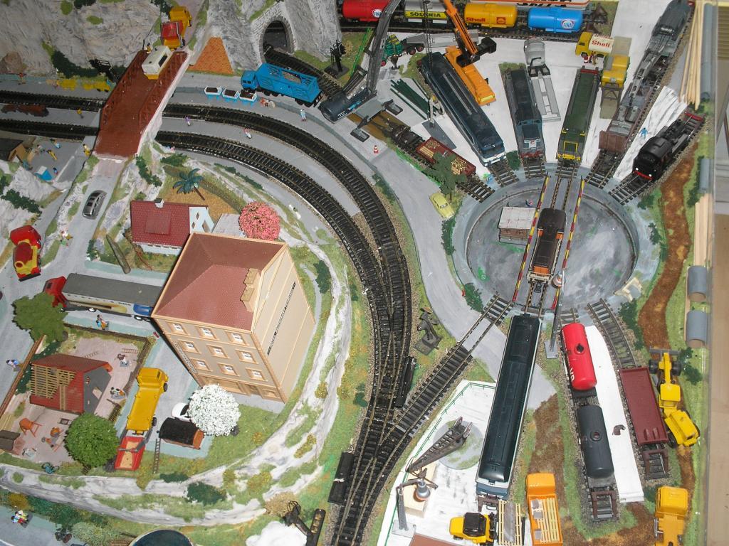 Forum Modelisme Ferroviaire Du Tregor Pont Tournant Jouef