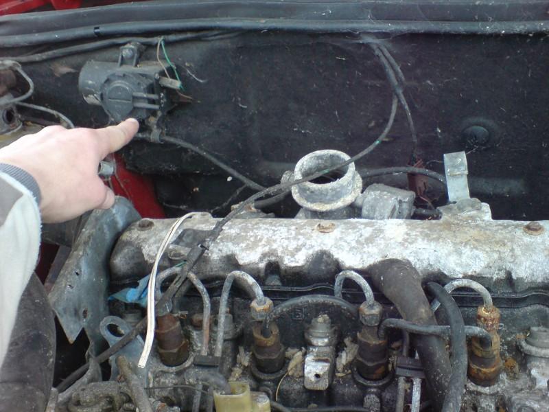 fuite d une pompe injection 306 td