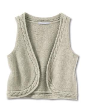 comment tricoter un gilet sans manches