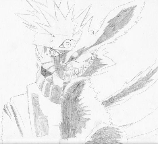 La dream team gallerie des dessin de killers - Naruto kyubi dessin ...