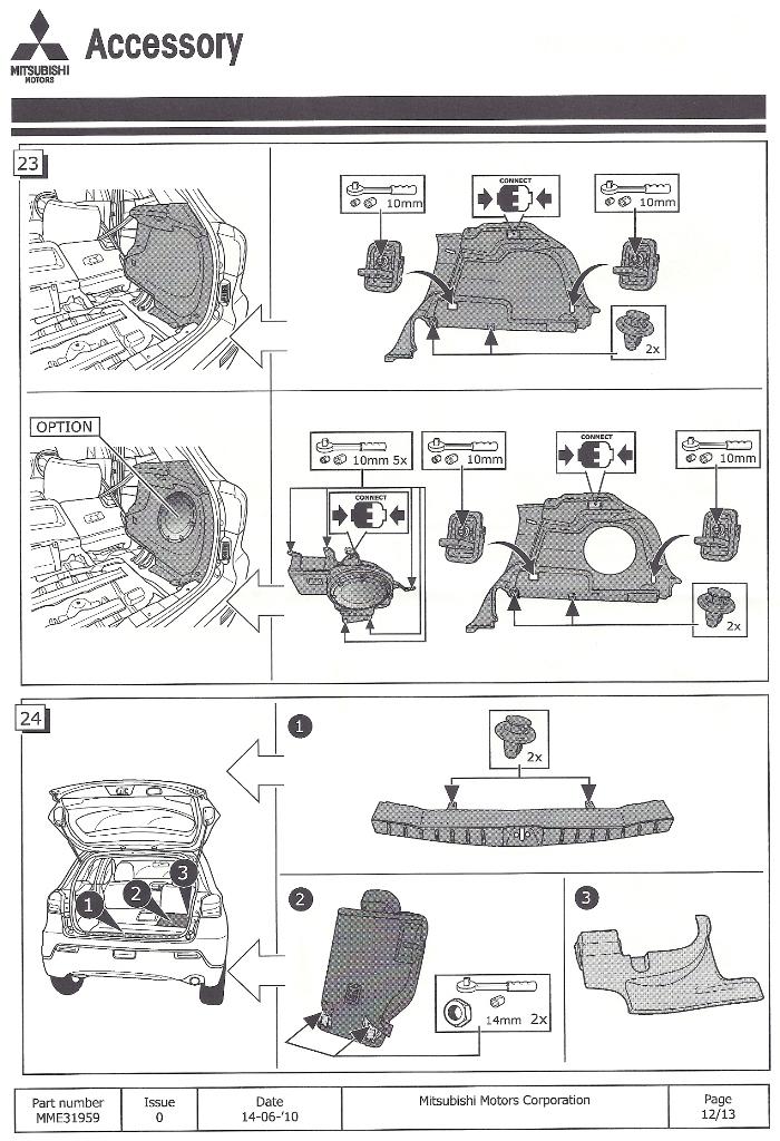 forum du mitsubishi asx peugeot 4008 citroen c4 aircross manuel de montage du faisceau. Black Bedroom Furniture Sets. Home Design Ideas