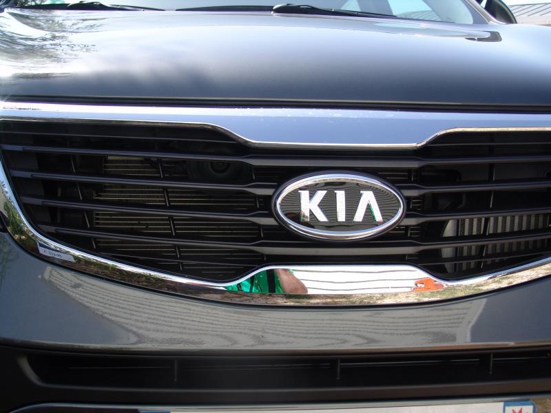 Forum Des Kia Sportage Grille De Protection Pour La Calandre