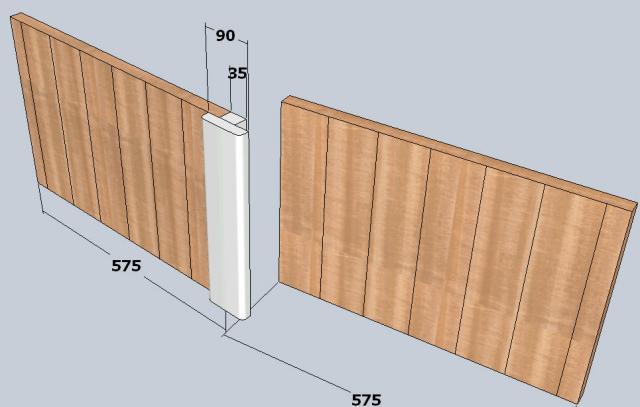 Forum Association Les Copeaux [Fabrication] volets bois # Fabrication Volet Bois