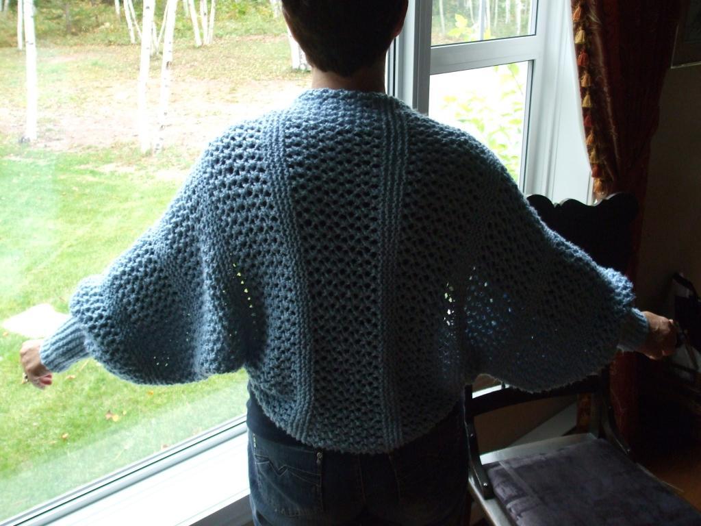 comment tricoter une liseuse