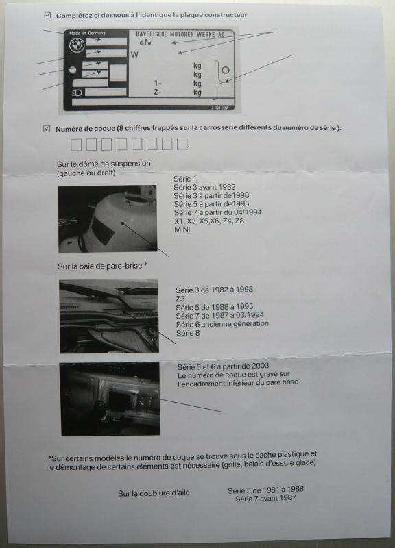 passion bmw e36 ou sont num ro de moteur type de moteur et num ro de coque. Black Bedroom Furniture Sets. Home Design Ideas