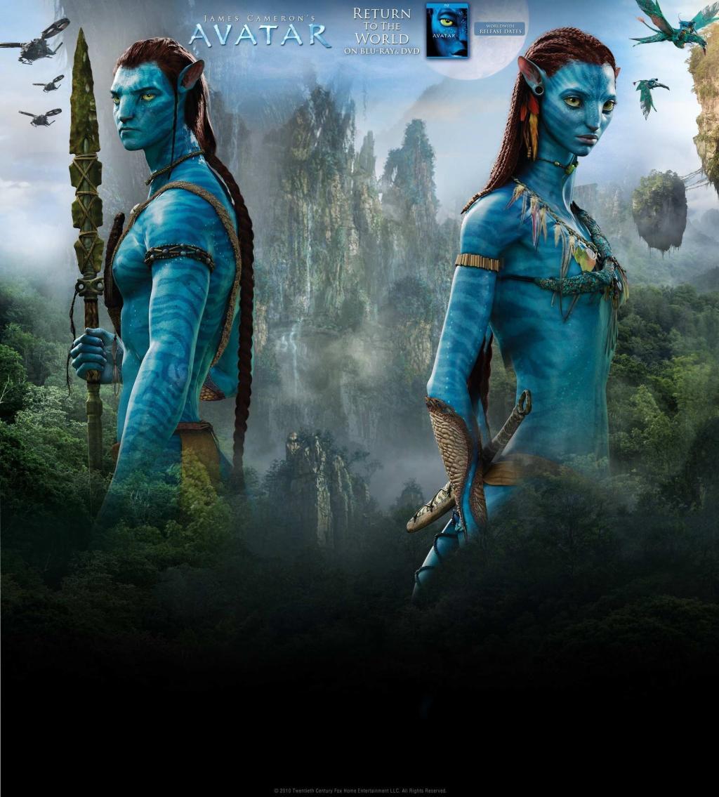 Avatar De James Cameron :: Jake Et Neytiri