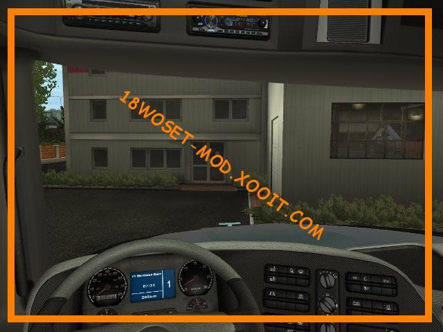 Extreme trucker addon addon de simulation routi re for Interieur kenworth t2000
