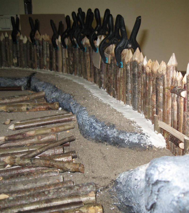 loz re mod lisme d cor et palissade en bois du village d 39 ast rix le gaulois. Black Bedroom Furniture Sets. Home Design Ideas