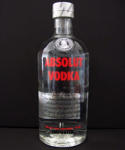 Absolut vodka Forum :: Absolut Red Label 100 proof | 1979 ...