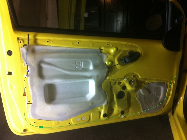 Citro n c1 toyota aygo peugeot 107 tuto 2nd monte for Changer une porte interieure