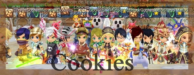 la guilde cookies Index du Forum
