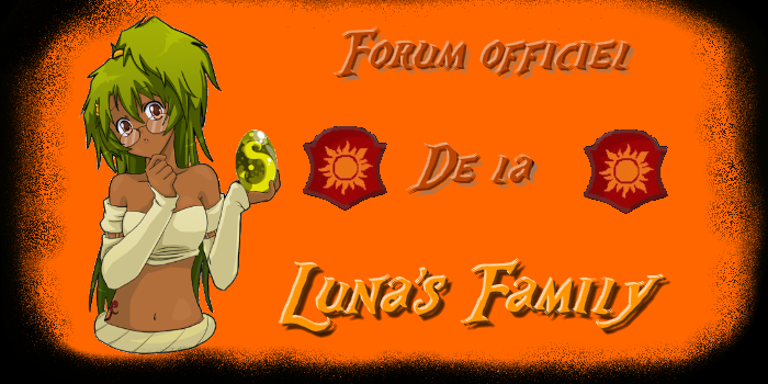 luna's family Forum Index