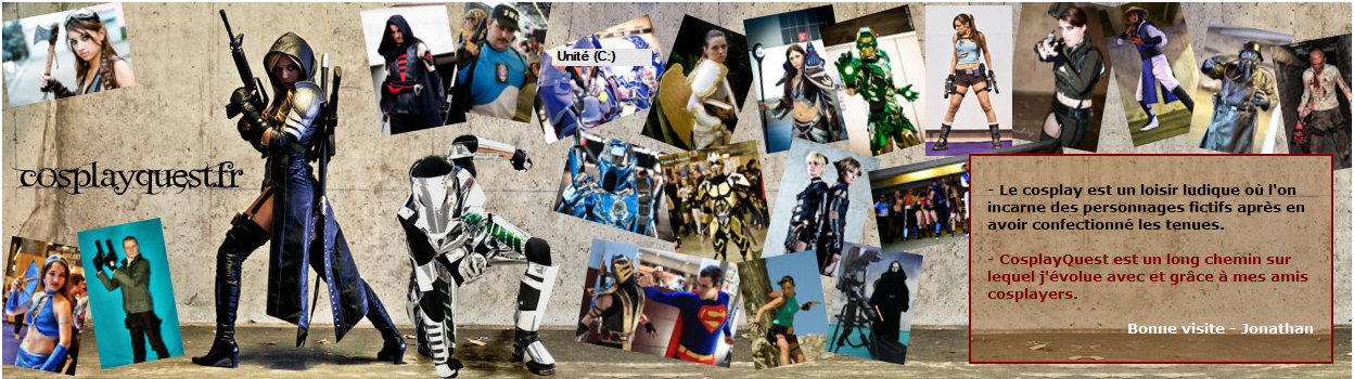 COSPLAY QUEST Index du Forum